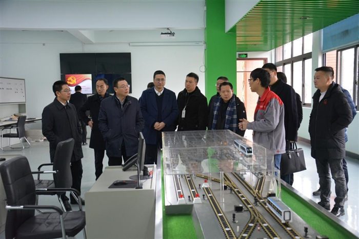 温州市教育局郑建海局长一行来访瑞安学院考察调研